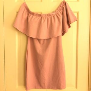 Blush Pink Mini F21 Dress